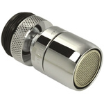 RS PRO Swivel Tap Aerator for use with M22 Spout End, M24 Spout End