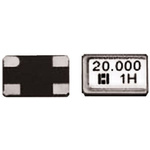 Hosonic 25MHz Crystal ±30ppm SMD 4-Pin 5 x 3.2 x 0.8mm