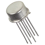 Analog Devices MAT01AHZ Dual NPN Transistor, 25 mA, 45 V, 6-Pin TO-78