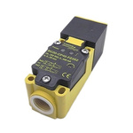 "Turck Capacitive sensor - Block, 20 mm Detection, IP67, 1/2-14"" NPT Connector Terminal"