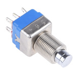 APEM Double Pole Double Throw (DPDT) Momentary Push Button Switch, 13.6 (Dia.)mm, Panel Mount, 24V dc
