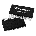 Microchip 16 bit Energy Meter IC 28-Pin SSOP, ATM90E26-YU-B