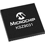 Microchip , 1-Channel Ethernet Transceiver 48-Pin QFN, KSZ9031RNXIC