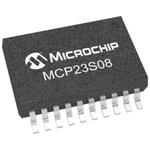 Microchip 8-Channel I/O Expander SPI 20-Pin SSOP
