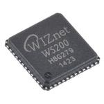 WIZnet Inc W5200, Ethernet Controller, 10Mbps MDI/MDIX, SPI, 3.63 V, 48-Pin QFN