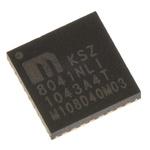 Microchip , 1-Channel Ethernet Transceiver 32-Pin QFN, KSZ8041NLI-TR