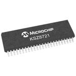 Microchip KSZ8721SL, Ethernet Transceiver, 100Mbps, 3.3 V, 48-Pin SSOP