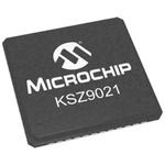 Microchip , 1-Channel Ethernet Transceiver 48-Pin QFN, KSZ9021RNI