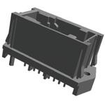 TE Connectivity, Micro Quadlock System Automotive Connector Plug 18 Way, Solder Termination