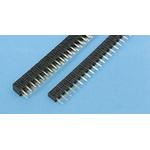 Stelvio Kontek, MINICOM 2.54mm Pitch 25 Way 1 Row Straight PCB Socket, Through Hole, Solder Termination