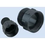 ITT Cannon Heat Shrink Boot, Black 41.5mm Sleeve Dia. x 46.7mm Length, Trident Neptune Series