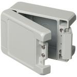 Bopla Bocube Alu, Grey Aluminium Enclosure, IP66, IP68, IP69, Flanged, 121 x 86 x 60mm