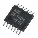 Analog Devices ADG1404YRUZ Multiplexer Single 4:1 12 V, 14-Pin TSSOP