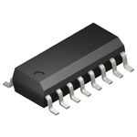 ON Semiconductor 74VHC123AMX, Dual Monostable Multivibrator 25mA, 16-Pin SOIC