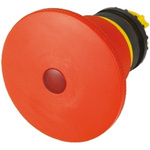 Eaton Mushroom Iluminated Red Emergency Stop Push Button - Latching, M22 Series, 22mm Cutout, Round