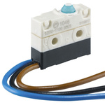 SPDT Simulated Roller Lever Microswitch, 10 A @ 250 V ac