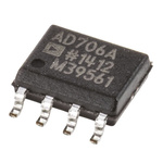 AD706ARZ Analog Devices, Op Amp, 800kHz, 8-Pin SOIC