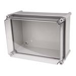 CAHORS GRP Combiester, Grey Fibreglass Enclosure, IP66, 360 x 270 x 201mm