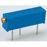 100Ω, Through Hole Trimmer Potentiometer 0.75W Side Adjust Bourns, 3006