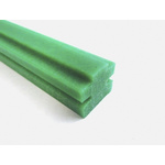 RS PRO 08B Chain Guide Green 2m x 17mm x 17mm