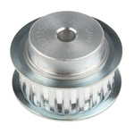 RS PRO Timing Belt Pulley, Aluminium 10mm Belt Width x 5mm Pitch, 20 Tooth