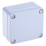 Rose Aluminium Standard, Grey Die Cast Aluminium Enclosure, IP66, 64 x 58 x 34mm Lloyds Register, Maritime Register, UL