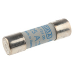 SIBA, 25A Ceramic Cartridge Fuse, 14 x 51mm