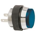 Signal Construct Blue Indicator, Tab Termination, 24 → 28 V, 16mm Mounting Hole Size