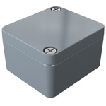 Rose Aluminium Standard, Grey Die Cast Aluminium Enclosure, IP66, 50 x 45 x 30mm Lloyds Register, Maritime Register, UL