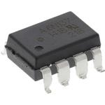 Broadcom, 6N137-300E DC Input Transistor Output Optocoupler, Surface Mount, 8-Pin DIP