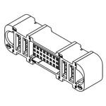 Molex, EXTreme Ten60Power, 46562 28 Way 3 Row Straight Heavy Duty Power Connector, Press Fit, Solder Termination