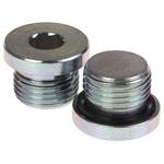 Parker, Steel Hydraulic Blanking Plug, Max Operating Pressure 400 bar, Thread Size 1/2 in