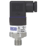 WIKA Pressure Sensor for Gas, Liquid , 10bar Max Pressure Reading Analogue