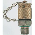 Stauff Hydraulic Test Point SMK 20 R 1/4 VC A2 S/S, G 1/4 Male