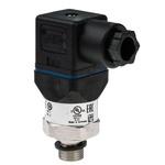 WIKA Hydraulic Pressure Sensor 12719308, 4-Pin L-Plug, 4 → 20mA, 0bar to 25bar