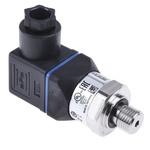 WIKA Hydraulic Pressure Sensor 12719332, 4-Pin L-Plug, 4 → 20mA, 0bar to 250bar
