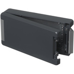Bopla Bocube Alu, Grey Aluminium Enclosure, IP66, IP68, IP69, Flanged, 259 x 128 x 60mm