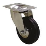 Guitel Swivel Swivel Castor, 50kg Load Capacity, 50mm Wheel Diameter
