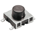 Tactile Switch, SPST-NO 50 mA @ 42 V dc 1.3mm