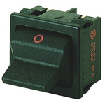 Marquardt DPST Toggle Switch, Latching, IP40, Panel Mount