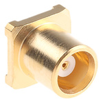 Radiall 50Ω Straight Surface Mount MCX Connector, jack