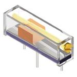 2kΩ, Through Hole Trimmer Potentiometer 0.75W Side Adjust Bourns, 3006