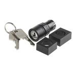 IP65 Key Switch, 5 A @ 250 V ac 2-Way, -25 → +55°C