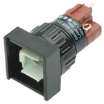 Illuminated Push Button Switch, IP40, Panel Mount, Momentary for use with Series 31 -25°C +55°C