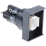 Illuminated Push Button Switch, IP40, Panel Mount, Latching for use with Series 31 -25°C +55°C