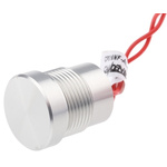 Natural Wire Lead Piezo Switch, , IP68, 200 mA @ 24 V, 1-pole on-off switch, -40 → +125°C