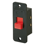 IP40 Panel Mount Slide Switch Double Pole Double Throw (DPDT) Changeover 2 A @ 250 V ac Slide