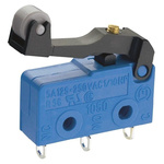 SPDT Lever Microswitch, 10 A @ 250 V ac