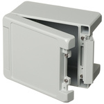 Bopla Bocube Alu, Grey Aluminium Enclosure, IP66, IP68, IP69, Flanged, 159 x 128 x 90mm