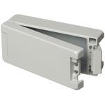 Bopla Bocube Alu, Grey Aluminium Enclosure, IP66, IP68, IP69, Flanged, 199 x 86 x 60mm